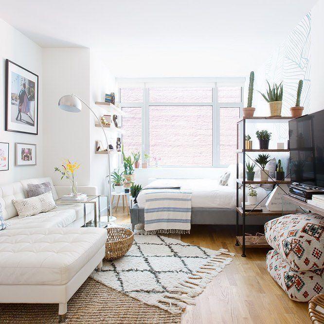 42 Simple Room Apartmen Design | Studio apartment ...