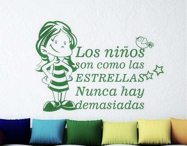 Frases infantiles imagui for Vinilos para ninos bebes