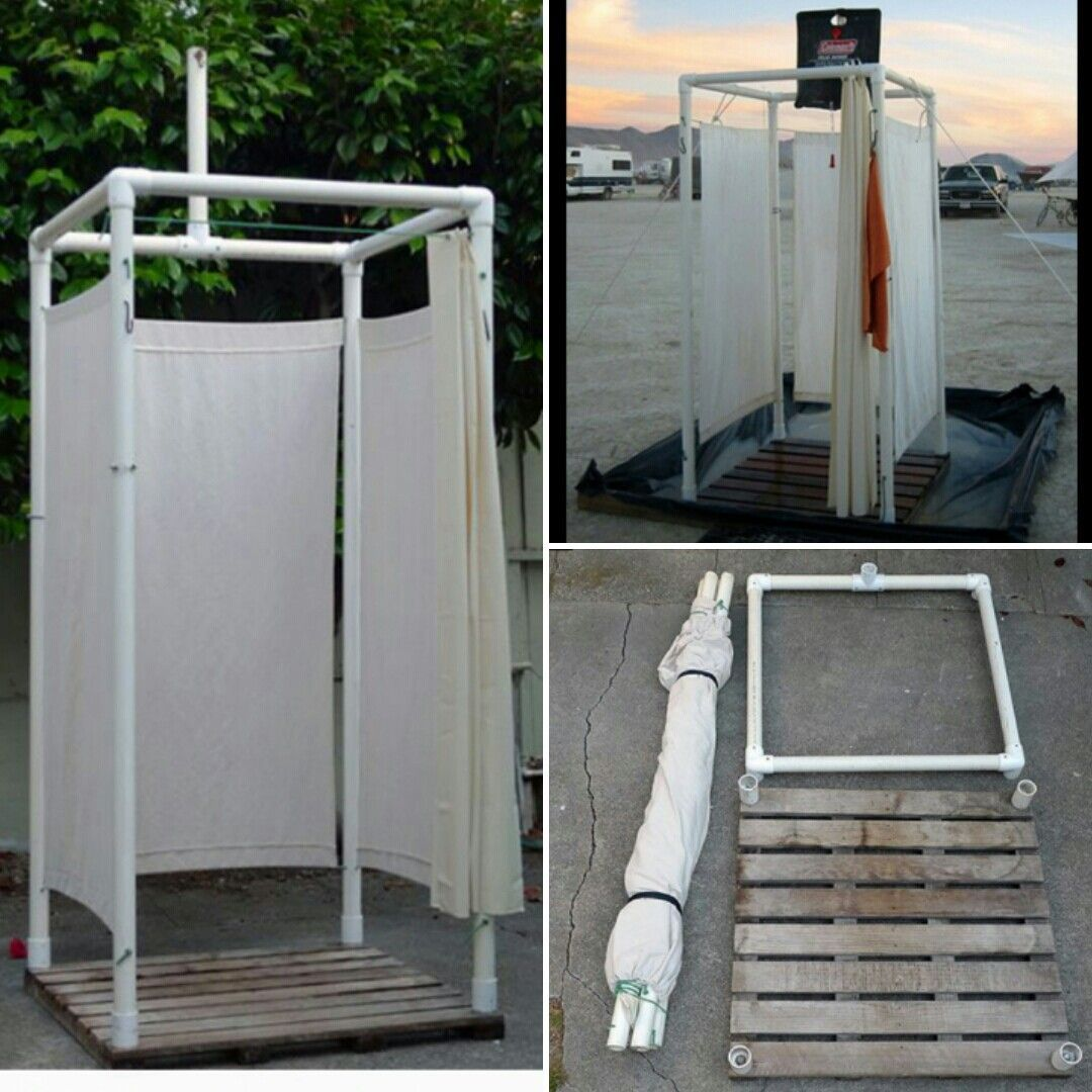 General Idea Of The Outdoor Pool Shower Outdoor Pool Shower Outdoor Camping Kitchen Pool Shower
