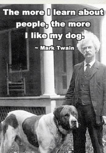 I Love My Dog More Than I Like Most People Dog Quotes Mark