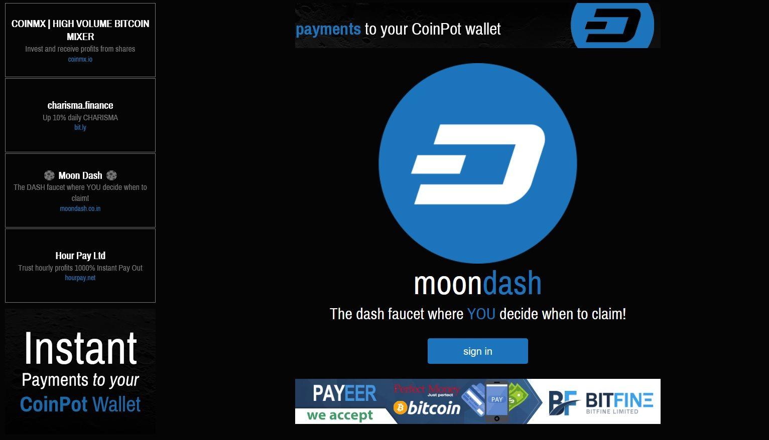 Dashcoin Faucet Free Dashcoin   Bitcoin   Pinterest