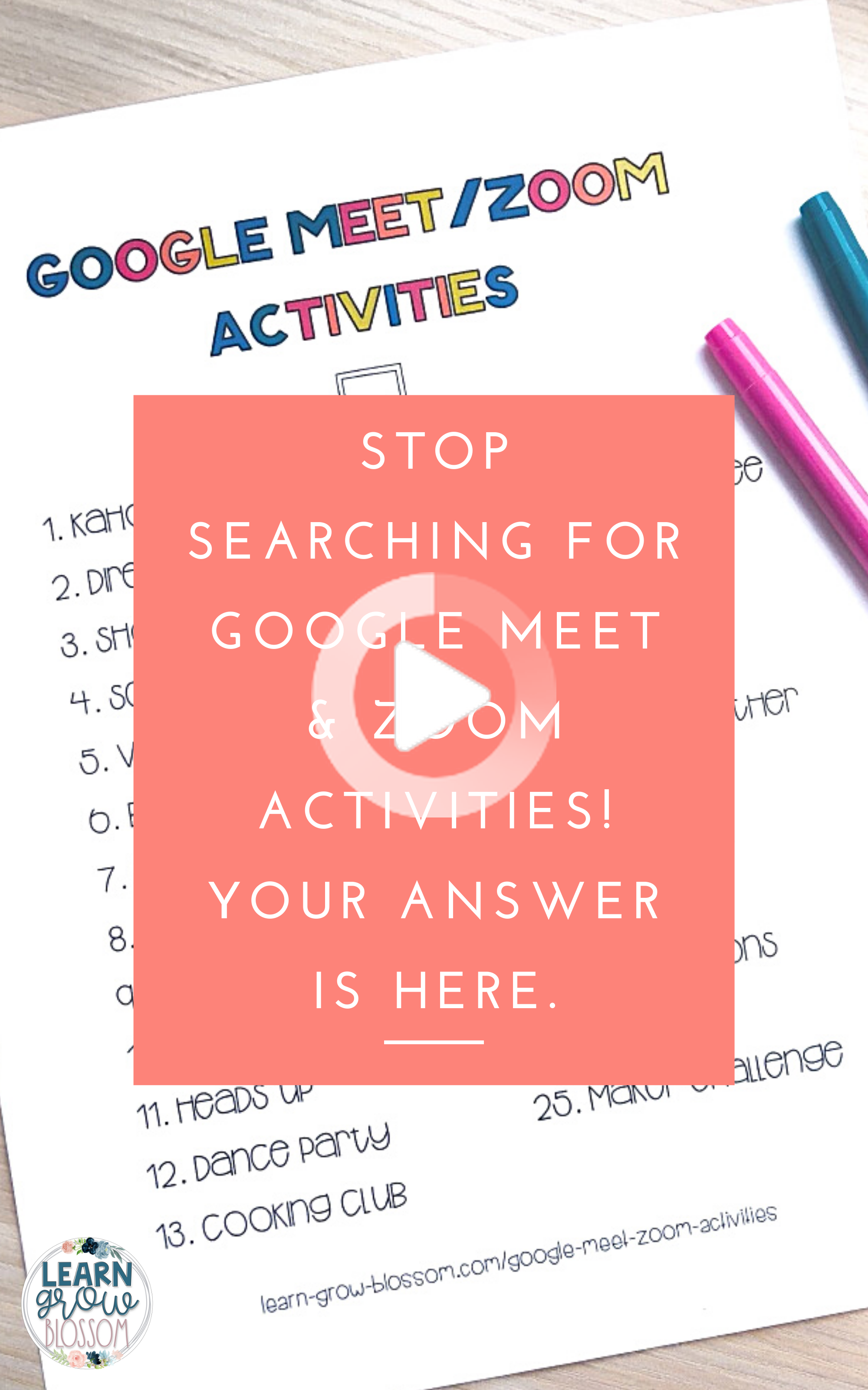 Google Meet Activities & Ideas for Distance Learning in