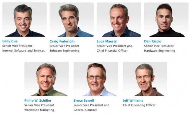 Pronti milioni di dollari in azioni a favore di alcuni dirigenti Apple
