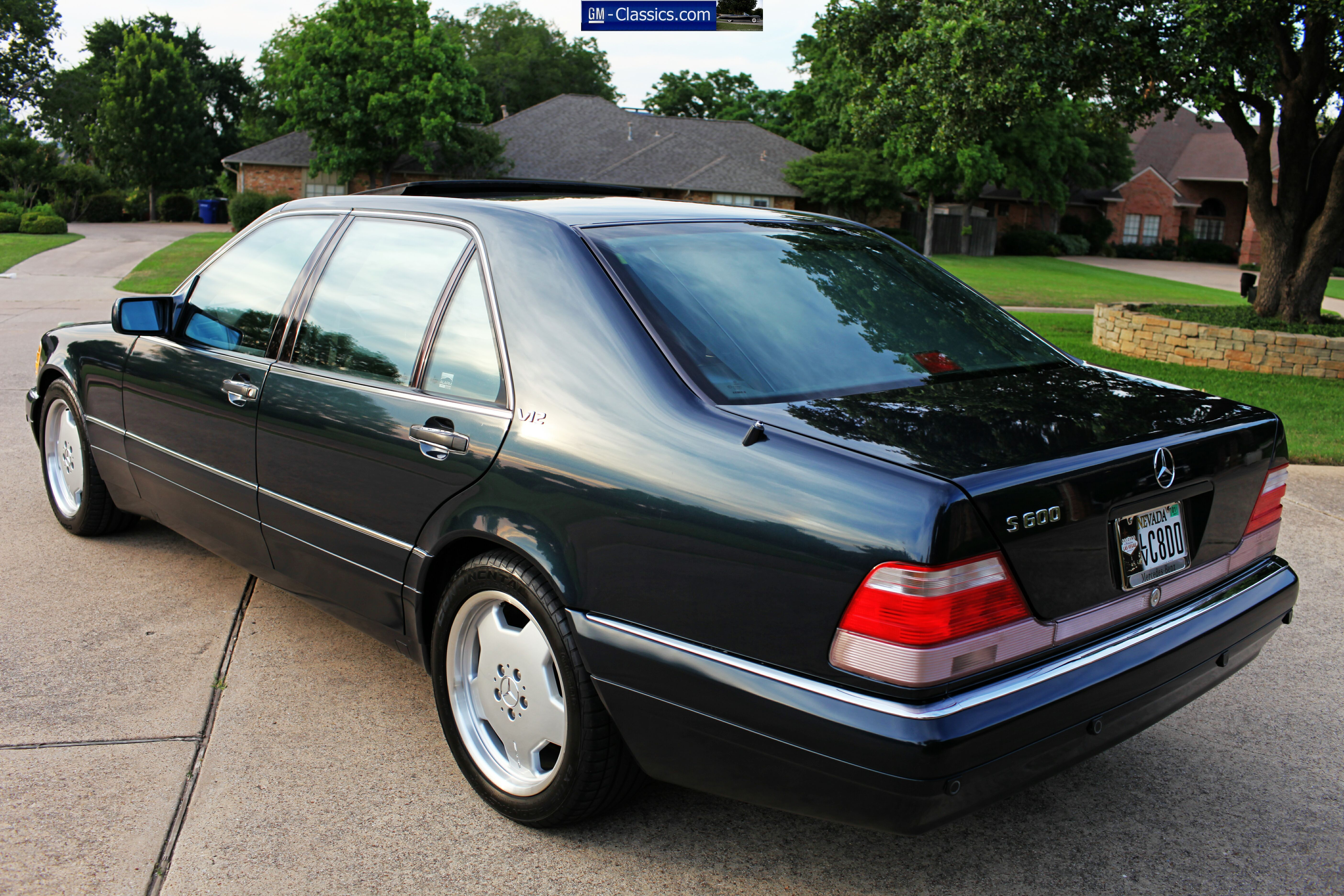 1998 Mercedes Benz S600 W140 With Images Mercedes Benz Cars