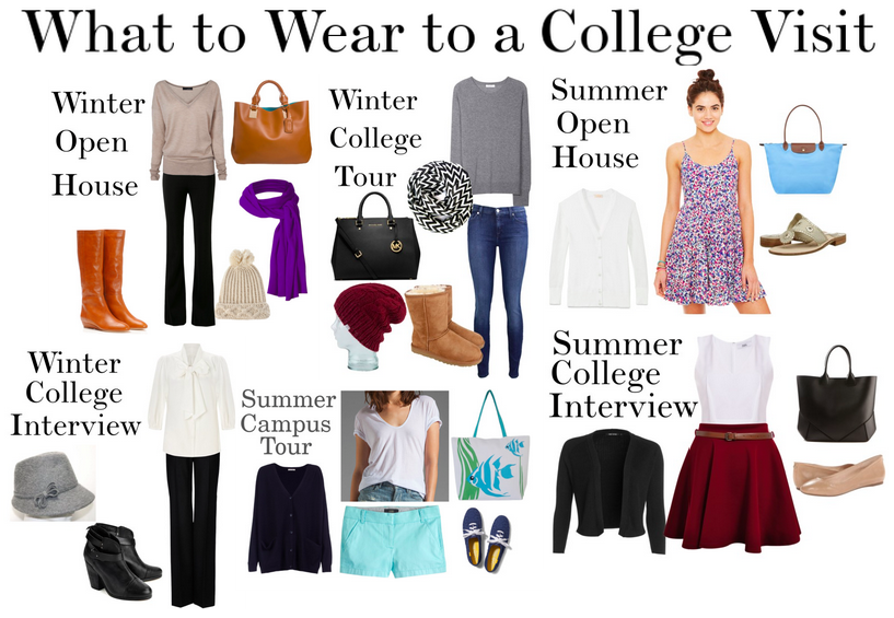 23eadb7ef96e What to Wear to a College Visit First Day Of School Outfit