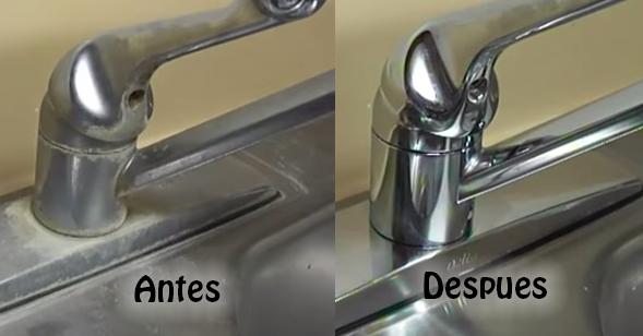 Cómo Quitar La Cal O Sarro De Los Grifos Taringa Cleaning Hacks Domestic Cleaning Household Hacks