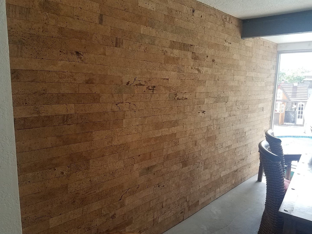 Cork Brick Wall Tile For Feature Walls Bath Living Room Fireplace Kitchens In 2020 Feature Wall Wall Tiles Feature Wall Living Room