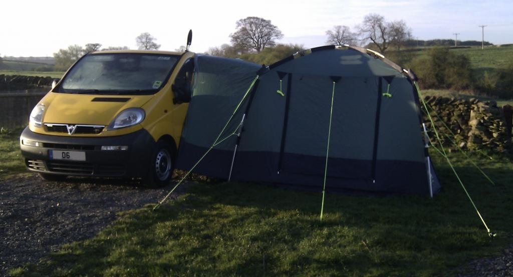 Renault Trafic Campervan Tent