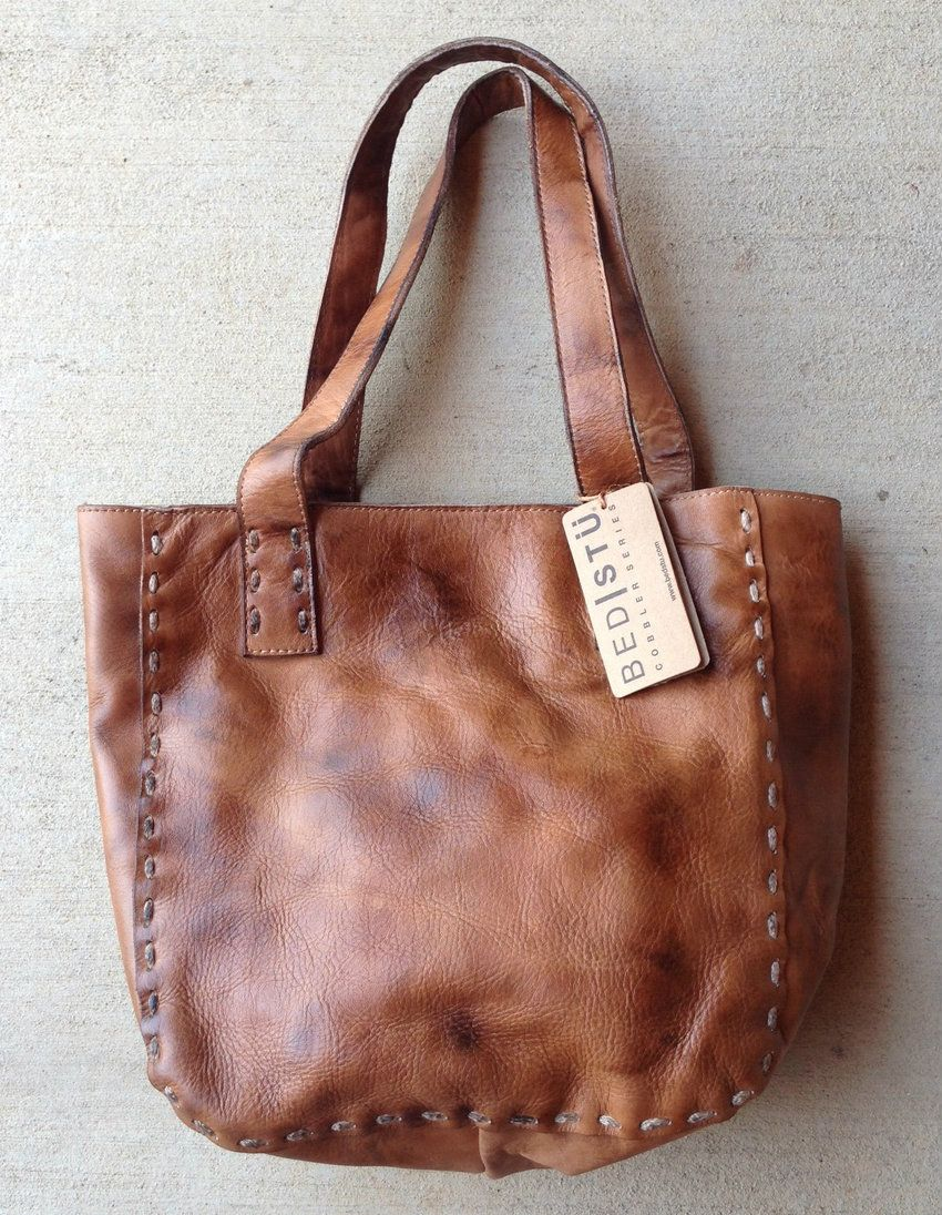 rivertrail mercantile - bed stu stevie tan handbag, $160.00 (http