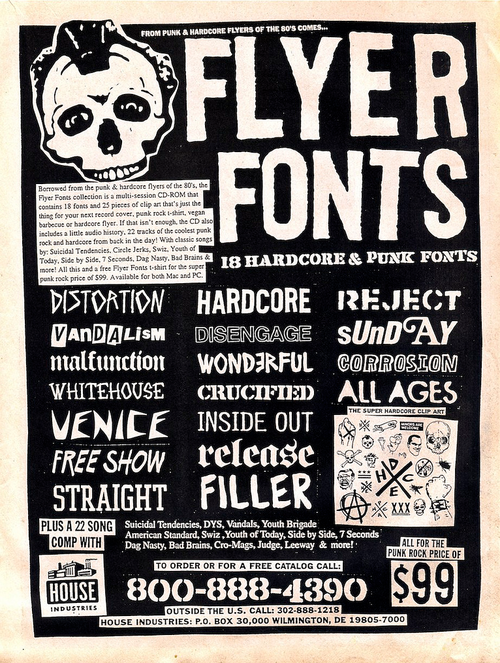 Crucified Malfunction  Ink    Fonts Typography And