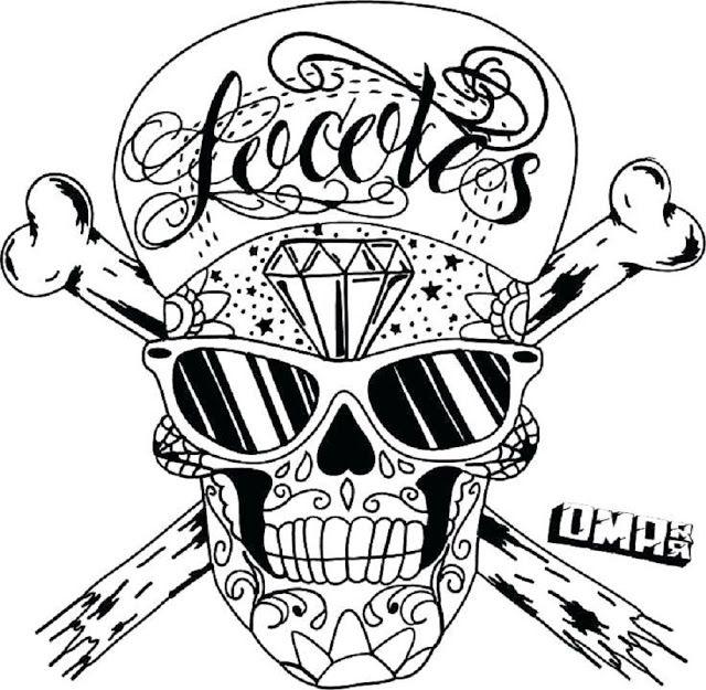 Cool Graffiti Coloring Pages Skull Ausmalbilder