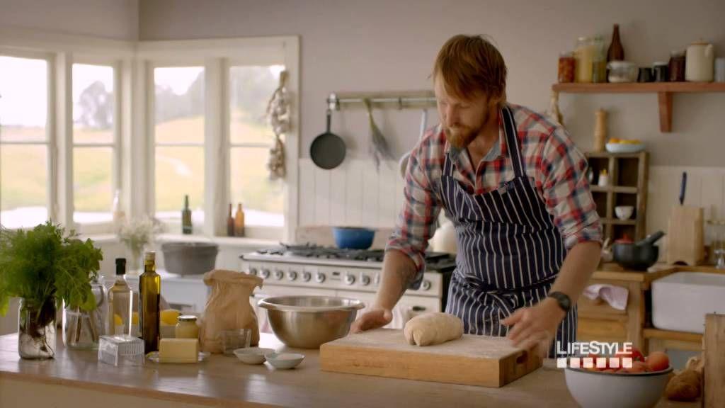 River Cottage Australia kitchen; rustic country kitchen Homes