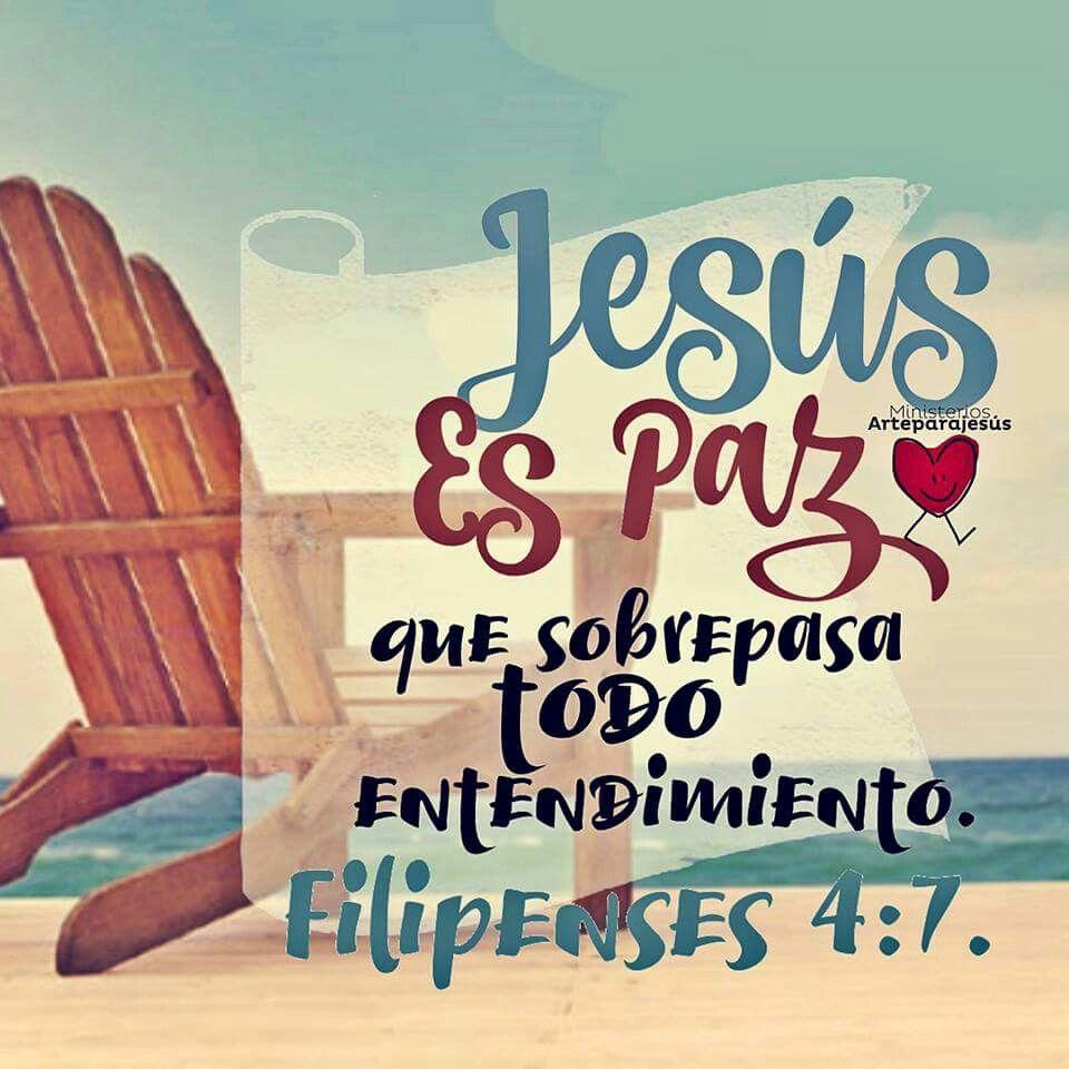 Mi paz proviene de Jesus <3   Versiculos Biblicos   Pinterest   De ...