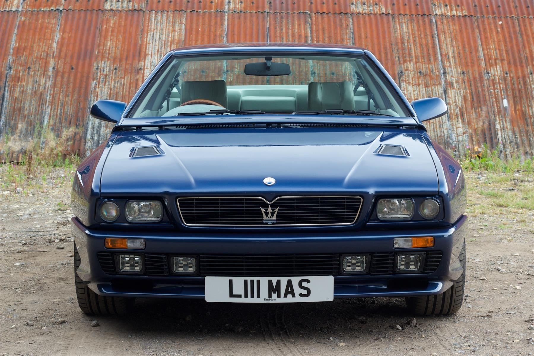 1992-96 Maserati Shamal   Voiture