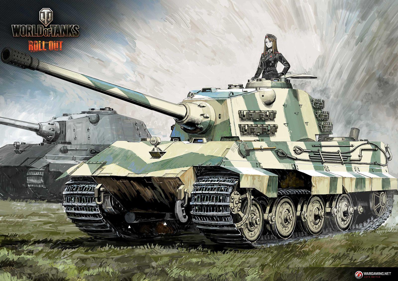 "Tank Illustrations ""Artist's Choice"" Part9: E 75 / sdkfz | Illustration Column | World of Tanks ..."