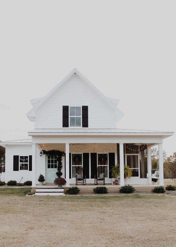 Modern Farmhouse Exterior Design