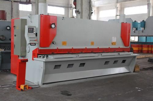 Hydraulic Guillotine Cutting Machine 20mm Steel Plate Cutting – Steel Cutters Metal Cutting