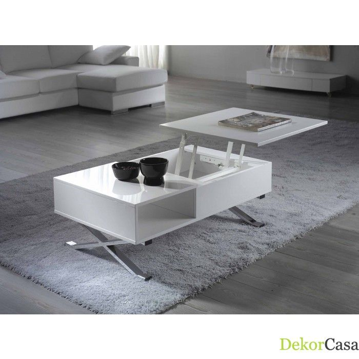Mesa de centro marilla 100 x 60 x 37 63 cm mesas de for Muebles auxiliares baratos online