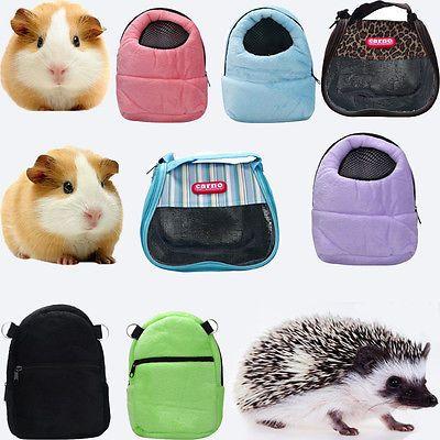 Convenient Rat Hamster Hedgehog Chinchilla Ferret Carrier Packet Sleeping Bag Small Animal Cage Pet Hammock Pet Cage