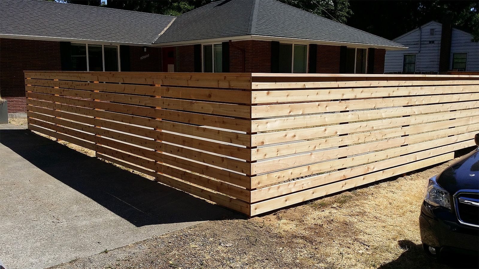 Our Work Cedar River Construction Make Your Fence Of Deck Happen Cedar Decking Options Cedar Fence Boards