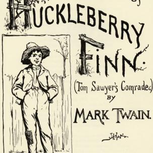 humor in huckleberry finn