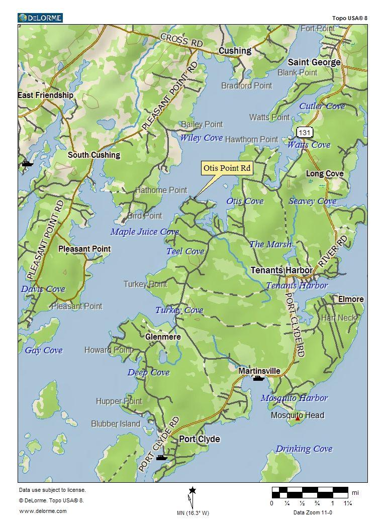 Tenants Harbor Maine Map.Town Of Tenants Harbor Me Tenants Harbor Maine New England