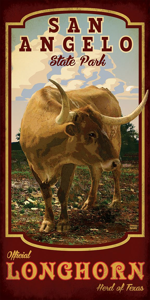 New Texas State Park Posters From Texas Poster San Angelo Texas San Angelo State Park Texas Poster