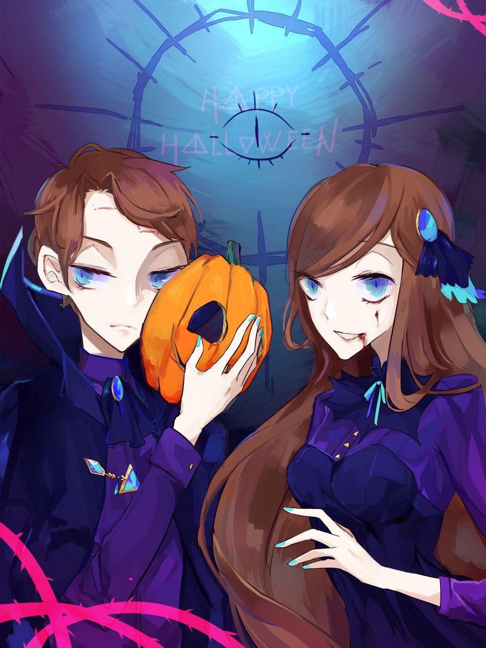 halloween in reverse fall | gravity falls | pinterest | reverse