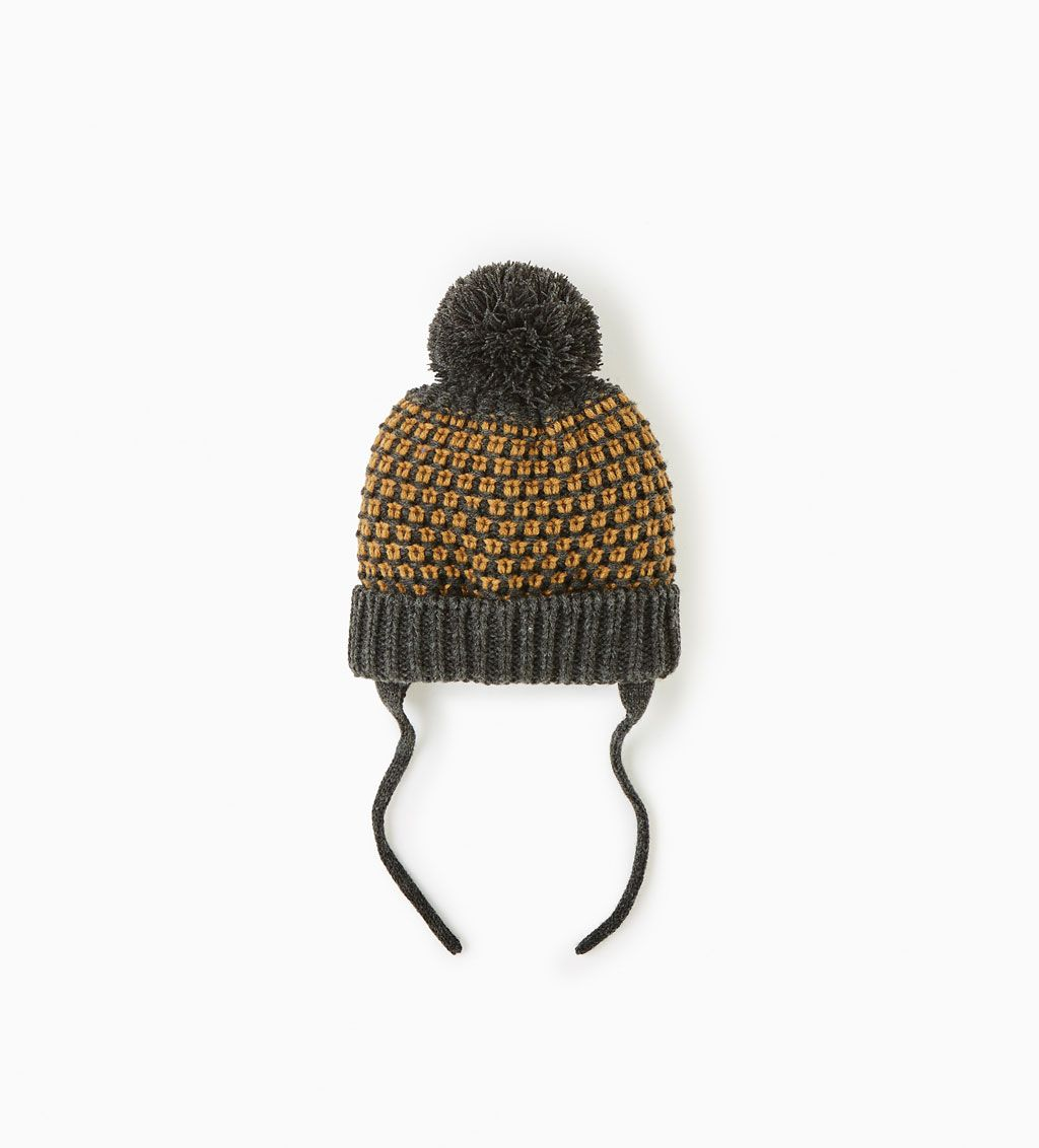 a998d42843 Two-tone hat-View all-ACCESSORIES-BABY BOY | 3 months-3 years-KIDS ...