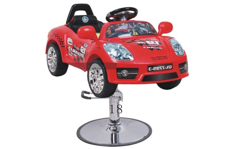 Pibbs 1804 Kids Barber Or Styling Chair Fire Engine Pedal Car