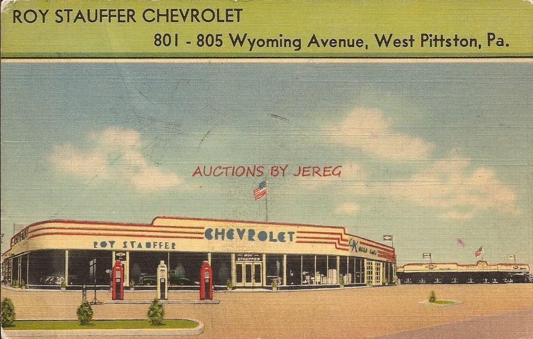 Roy Stauffer Chevrolet Dealership West Pittston Pennsylvania