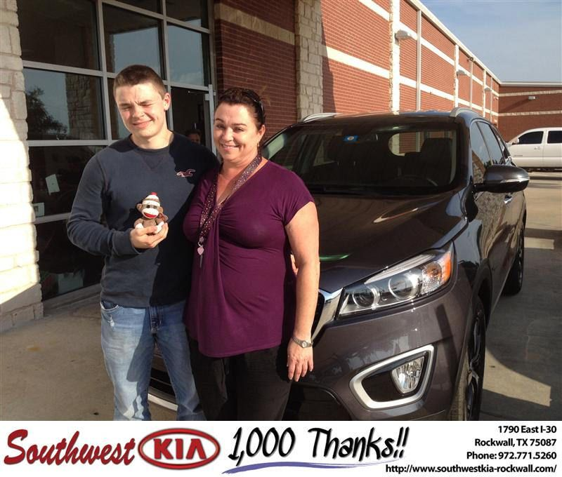 Congratulations To Keli Stevens On Your Kia Sorento From Kathy Parks At Southwest Kia Rockwall Newcar Kia Sorento Rockwall