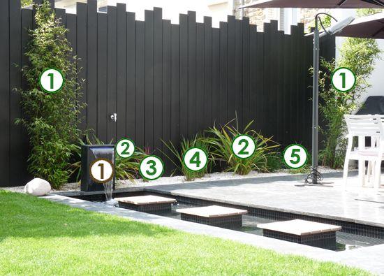Une bordure contemporaine de graminées (Scènes de jardins) | NOTRE ...