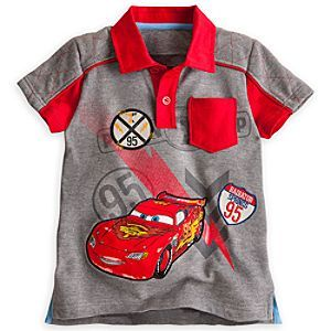 Disney Cars Boys Cars Polo Shirt