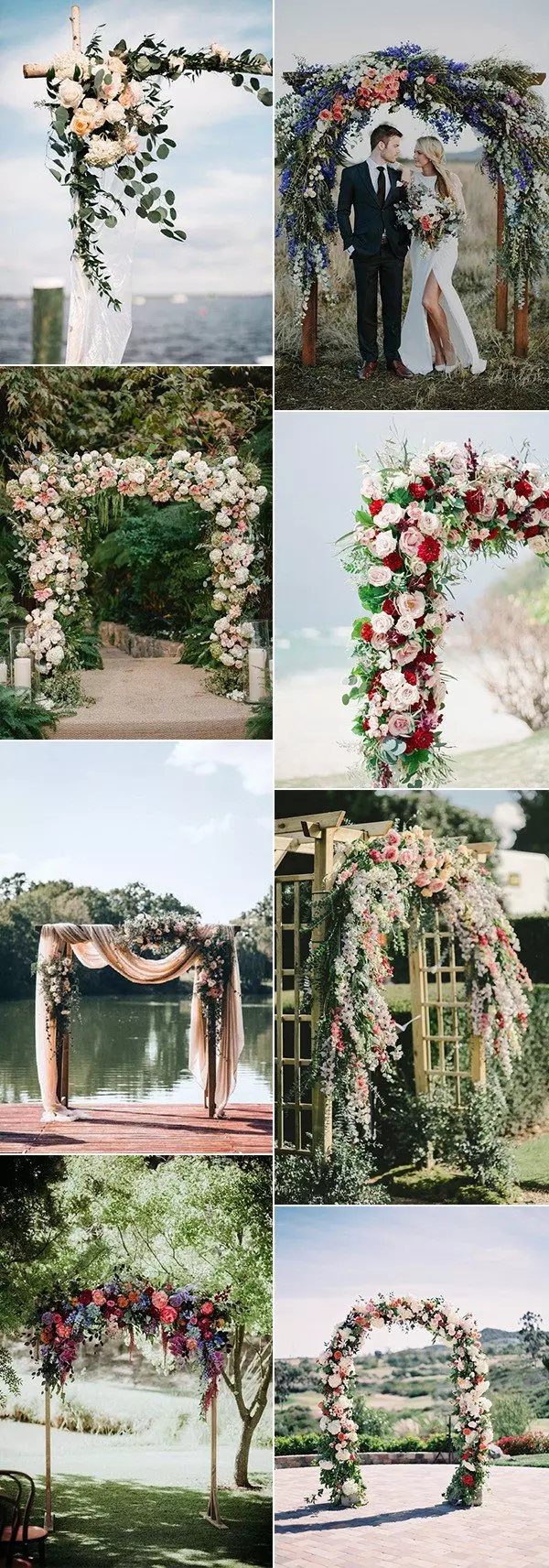 20 Prettiest Floral Wedding Arch Decoration Ideas – Page 2 of 2