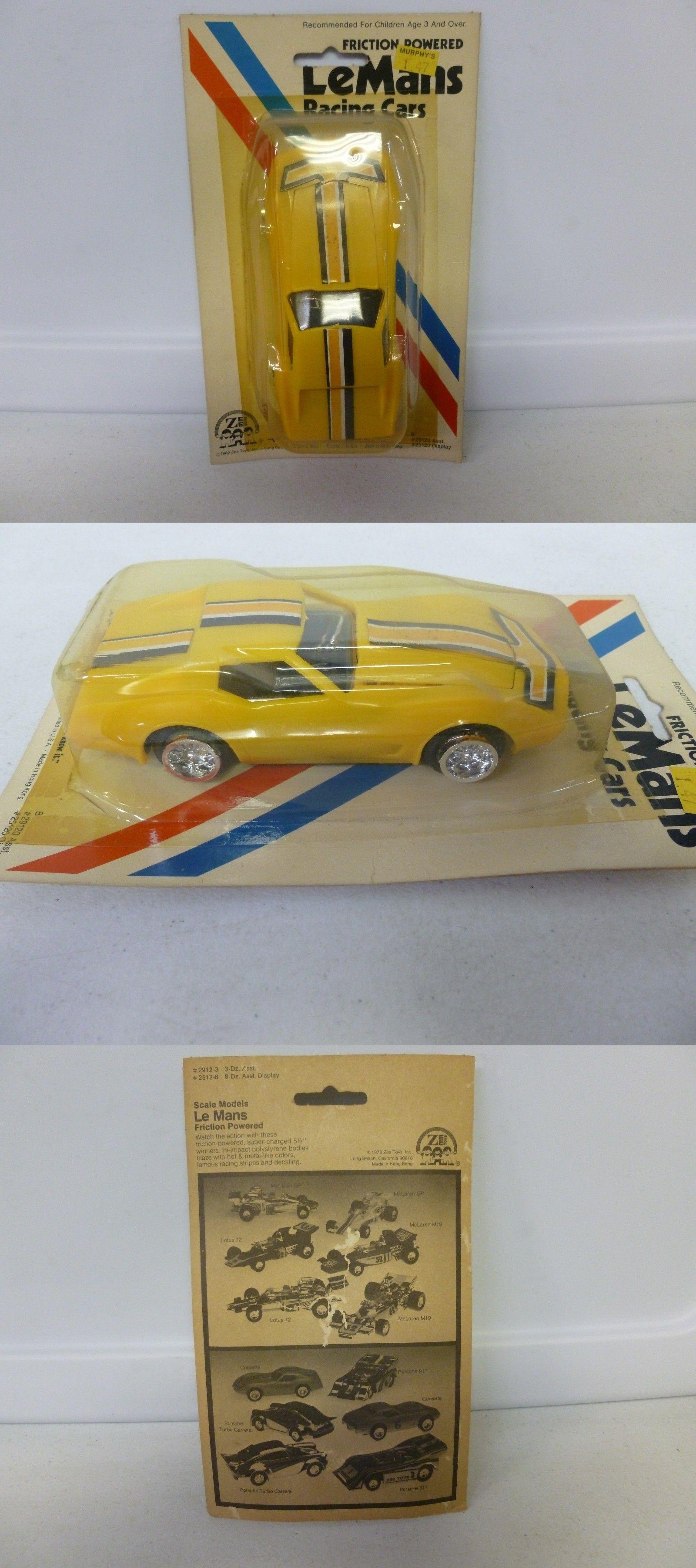 Cars 3 toys racers  Vintage  Zee Toys Friction Powered LeMans Racing Car Corvette