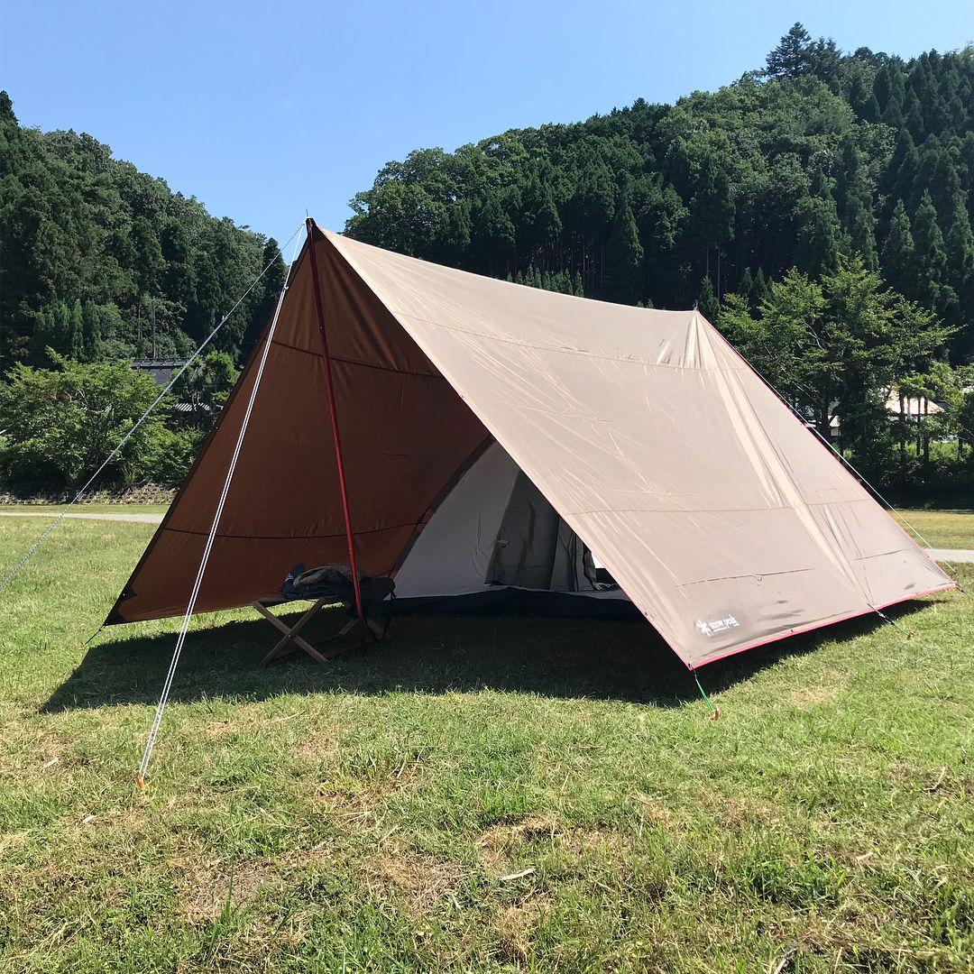 みんなの技ありタープスタイル10連発 Camp Hack キャンプハック テントキャンプ アウトドア テント タープ