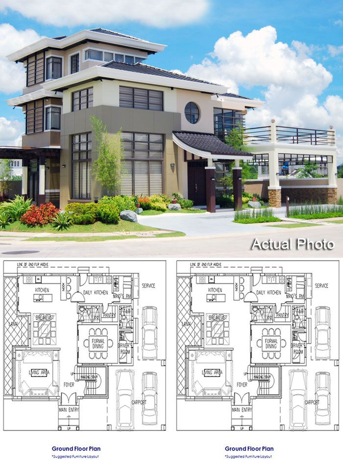 Japanese Inspired Three Storey House Japanese Style House Japanese Modern House Modern Style House Plans