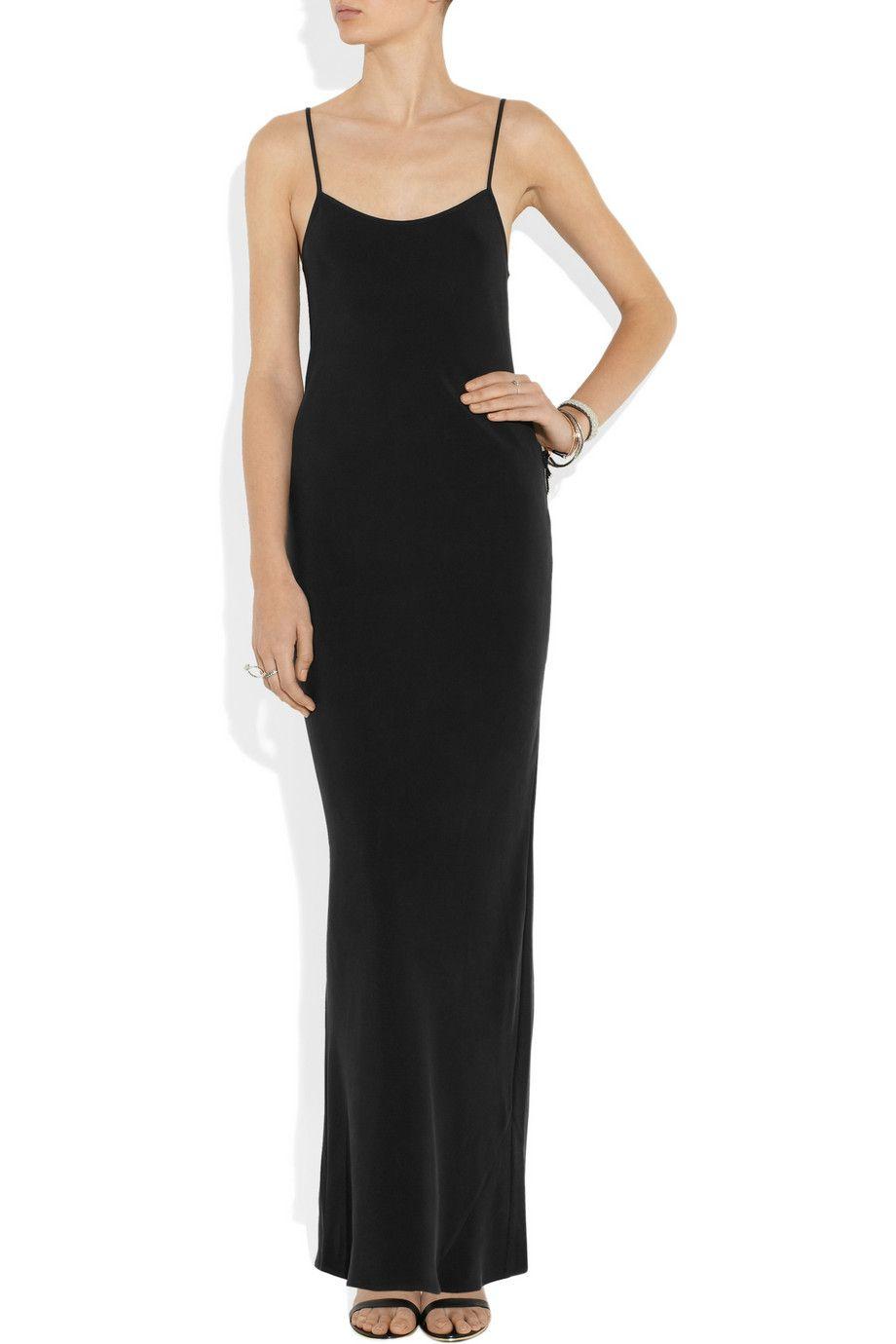 c91813e6d242 Joseph | Slipy washed-silk maxi slip dress | NET-A-PORTER.COM ...