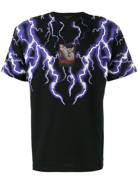 972c9214 ALEXANDER WANG lightning collage T-shirt. #alexanderwang #cloth ...