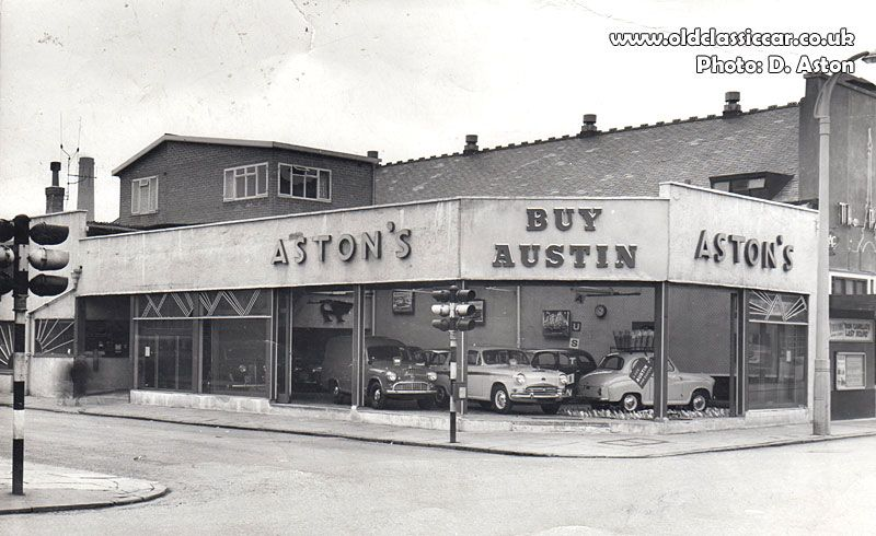 Aston S Austin Dealership In Coventry They Never Did