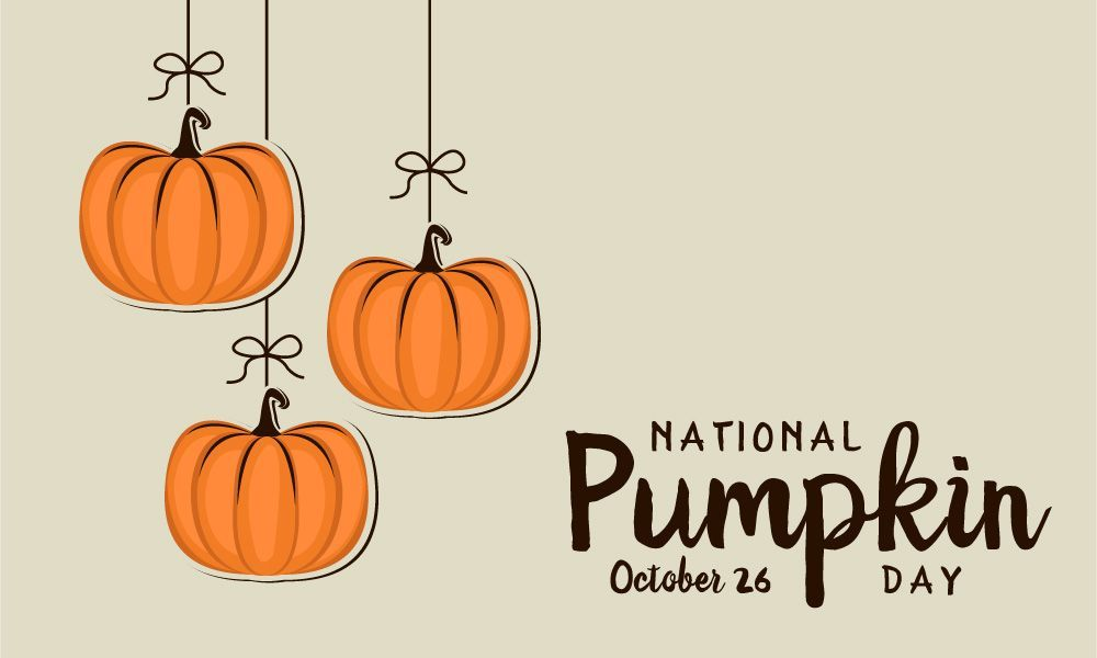 Happy National Pumpkin Day We Ll Send You A Free Gift When You Spend 100 With Us Today Www Indoffbusinessproducts Com Free Gifts Gifts Day