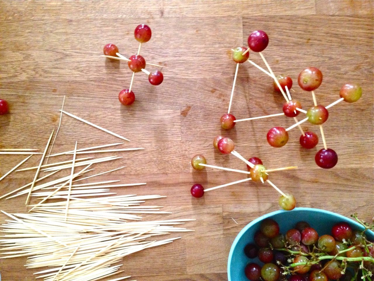 grape sculptures