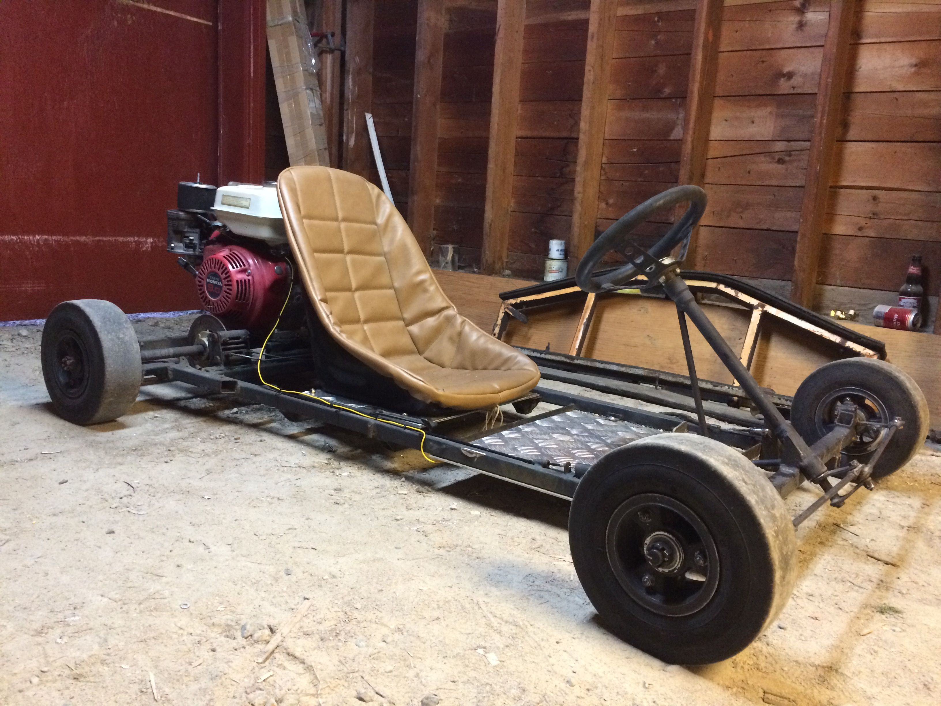 My kick ass old school go kart | Bikes + Karts | Pinterest