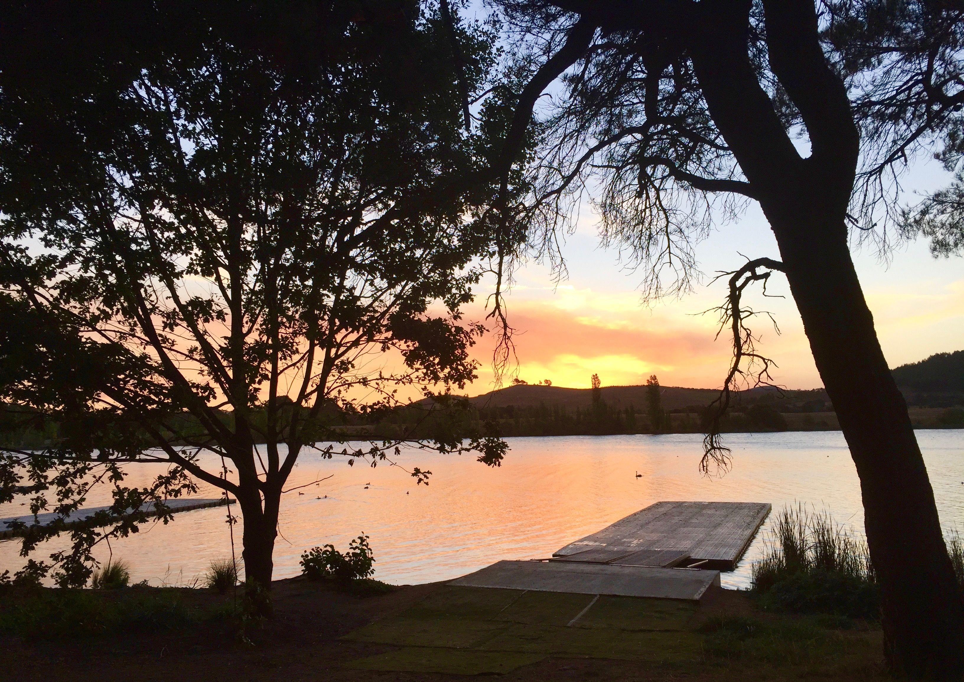 Lake Burley Griffin, Canberra, Australia