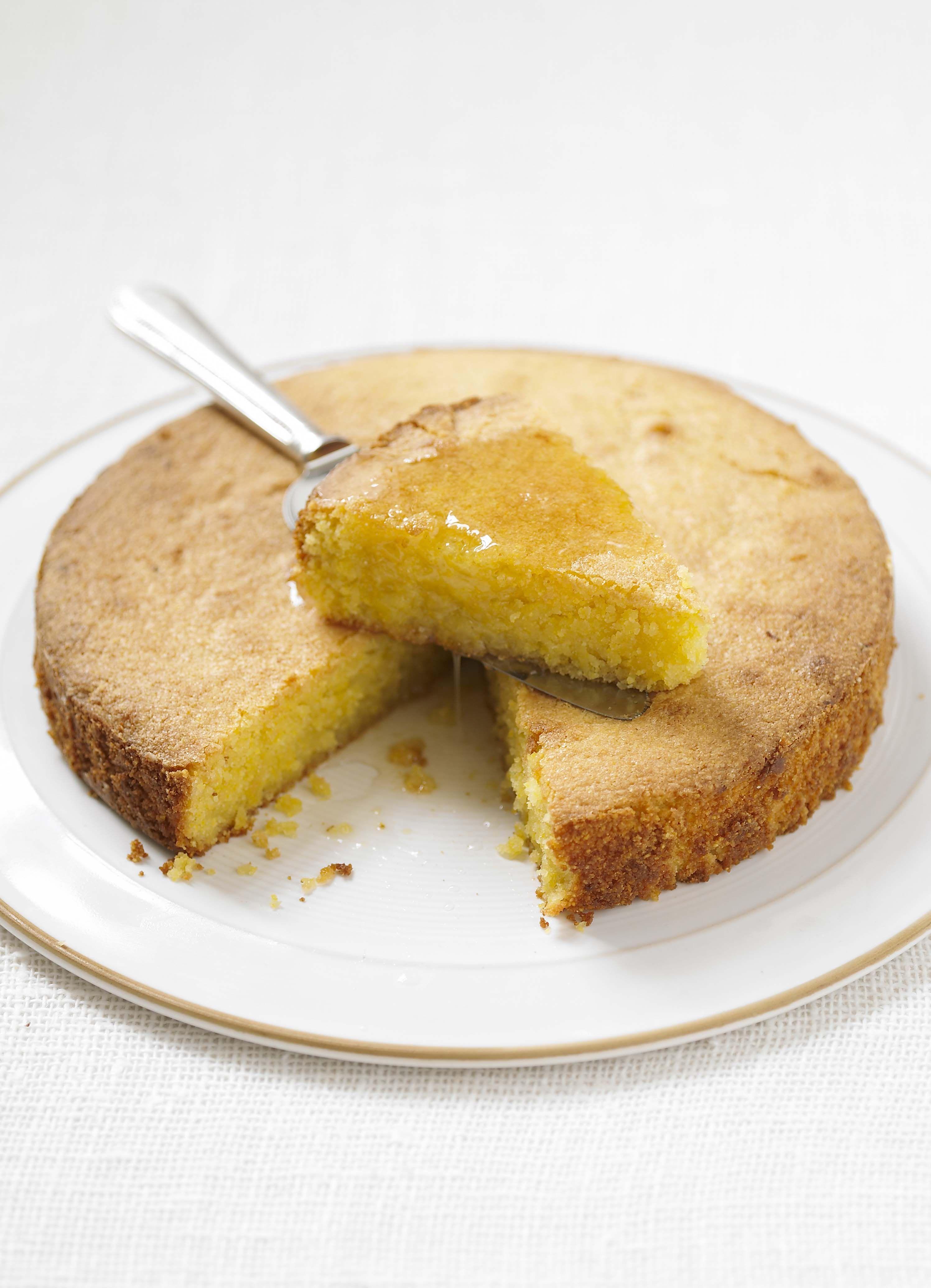 The Best Lemon Polenta Cake