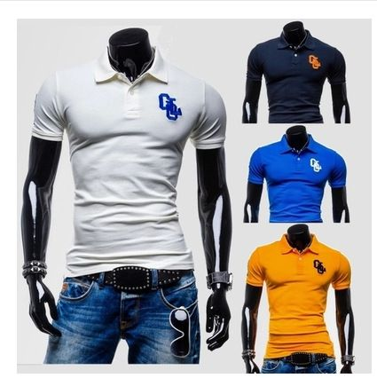 2015 Spring New Arrival Branded Fashion 100% Cotton Men TShirts Short Sleeve Collar Slim Tops Tshirt for Man Free Shipping - http://www.aliexpress.com/item/2015-Spring-New-Arrival-Branded-Fashion-100-Cotton-Men-TShirts-Short-Sleeve-Collar-Slim-Tops-Tshirt-for-Man-Free-Shipping/32328020938.html