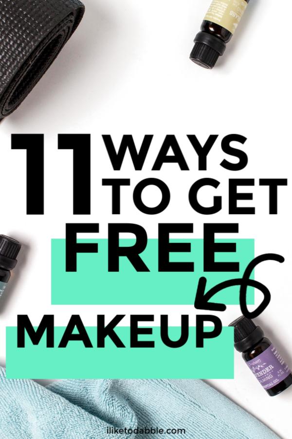 Free Makeup Samples 11 Fun Ways To Find Them I Like To Dabble In 2020 Free Makeup Samples Free Makeup Get Free Makeup