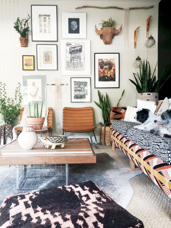 60 Romantic Bohemian Style Living Room Design Ideas