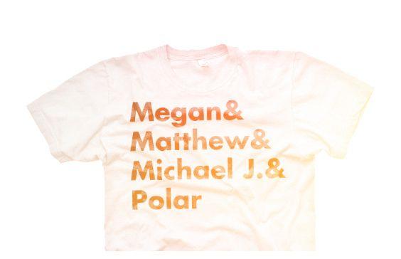 Polarfox T-Shirt  Megan, Matthew, Michael J. & Polar